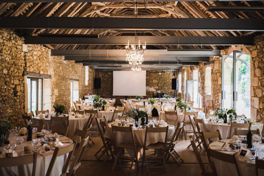mariage au château La Fourtonie